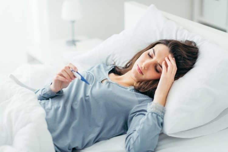 sốt là biểu hiện cảm cúm