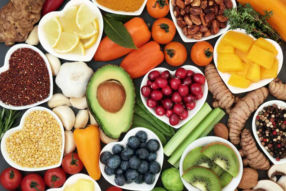 trái cây và rau củ người bệnh tim nên ăn