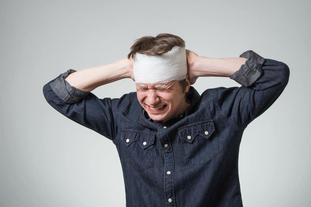 Triệu chứng chấn thương sọ não kín ở người lớn
